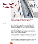 OECD's Action Plan on Base Erosion and Profit Shifting