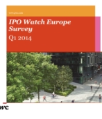IPO Watch Europe Survey Q1 2014